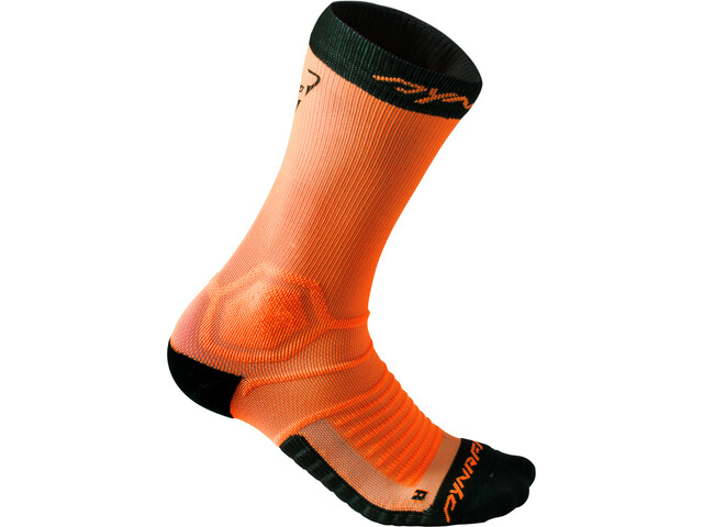 Dynafit Ultra Cushion Calcetines Running Hombre, fluo orange